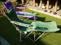 CAMPING CHAIRS - FOLDING - NEW WITH TAGS