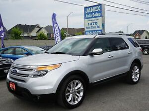 2011 Ford Explorer Limited 6 PASS | SUNROOF | BLACK LEATHER I...