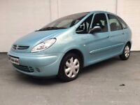 2004 CITROEN PICASSO 1.6 DESIRE 5dr ***FULL YEARS MOT***