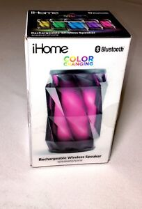 IHome Bluetooth LED Colour Changing Speaker