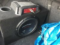 Car amplifier fully working order