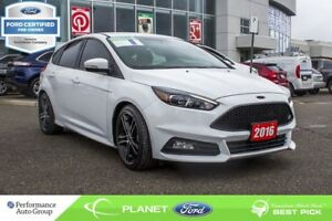 2016 Ford Focus ST|NAVI|BACKUP CAM|HTD SEATS|FORD CERTIFIED