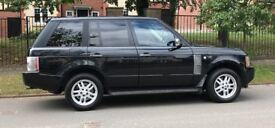 Range Rover 2005 3.0 TD6 Black 12Months. MOT