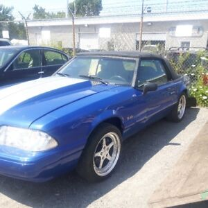 1989 Ford Mustang lx Cabriolet