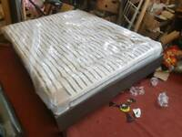 Bed - Quality IKEA Oppland Kingsize Bed Frame and a Quality Firm Pocket Spring Mattress