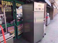 UPRIGHT COMMERCIAL FRIDGE CATERING MACHINE RESTAURANT FASTFOOD DINER SHOP PUB KITCHEN BAR TAKEAWAY