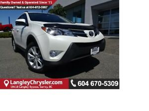 2015 Toyota RAV4 Limited AWD W/LEATHER INTERIOR, BLUETOOTH &...