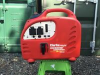 Clarke IG2200 2.2kW Inverter Generator - Excellent, Nearly New Condition