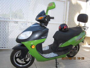 'Benzhou'' Motor Scooter.