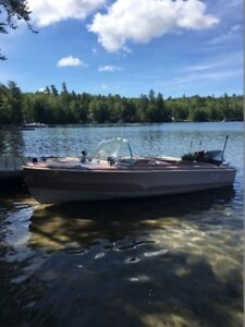 1960 Larson All American 14 Ft. Vintage Runabout