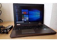 """High Spec HP Intel Core i5-3230 Laptop,8GB RAM,256GB SSD Hard Drive,15.6"""" Led,Windows 10 Pro 64 Bit,"""