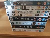 Bones The Complete Seasons 1 - 8 On DVD