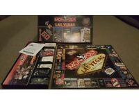 2000 US Monopoly Las Vegas Edition Board Game - Contents All Sealed
