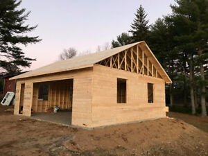 Framing, Siding and Roofing