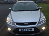 2011 FORD FOCUS 1.6 DIESEL,£30 A YR ROAD TAX,1 PREVIOUS OWNER,2 KEYS,SERVICE HISTORY