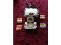 Vtech Vsmile Game Console, Case and 4 Games