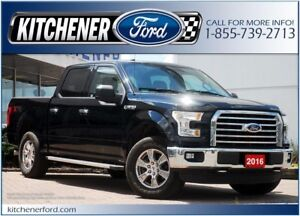 2016 Ford F-150 XLT XLT/4WD/CAMERA/TOW PKG/CHROMES/RUNNING BDS