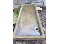 Vintage stone reclaimed sink ,,huge