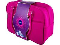 Nivea pink cosmetic gift bag