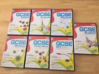 7 Pack Letts GCSE PC revision guides