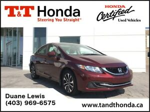 2015 Honda Civic EX* One Owner, Rear Camera, Heated Seats*