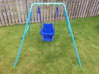 Children's (kids) Garden swing
