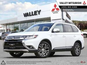 2016 Mitsubishi Outlander GT-NAVIGATION, LEATHER SEATING, V6, SU