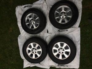 4 winter tires + rims