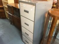 METAL STORAGE FILING CABINET WITH LOCKING KEY