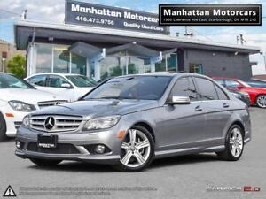2010 MERCEDES BENZ C300 4MATIC |NAV|CAMERA|ROOF|PHONE|NOACCIDENT