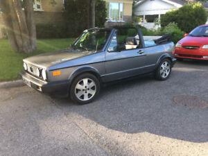 Volkswagen Cabriolet 1990