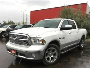 2014 Ram 1500 LARAMIE**LEATHER**SUNROOF**NAVIGATION**