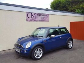 2004 MINI COOPER 1.6 BLUE NATIONWIDE DELIVERY CARD FACILITY WARRANTY PART EX AVAILABLE