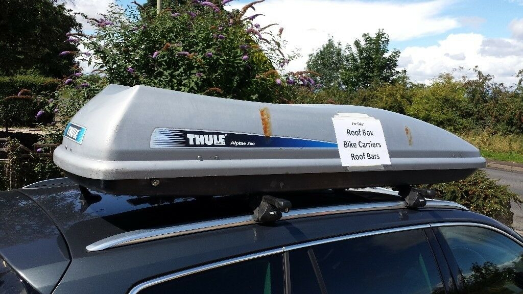 Thule Alpine 500 Lockable Roof Box Roof Bars Bike Carriers
