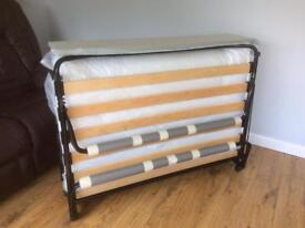 SMALL DOUBLE FOLD UP BED