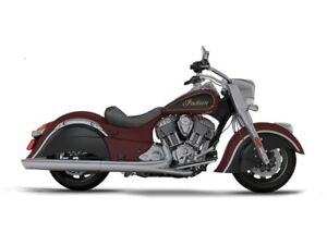 2017 Indian Chief Classic Burgundy Metallic Over Thunder Black