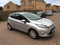 2012 FORD FIESTA 1.2, MILEAGE 54000, PARKING SENSORS, FULL SERVICE HISTORY, ONE PREVIOUS OWNER