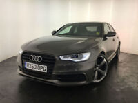 2013 63 AUDI A6 S LINE BLACK EDITION TDI DIESEL AUTOMATIC 1 OWNER FINANCE PX