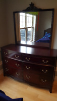 1950's mahogany pineapple post bedroom set Moncton New Brunswick Preview