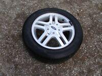 Ford Focus Alloy Wheel & Tyre (195/60/R15