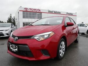 2015 Toyota Corolla LE Remote Starter Included!!!