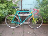 Fixed gear / single speed fixie vintage Carrera bike bicycle