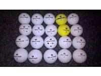 Wilson Golf Balls (20 Balls)