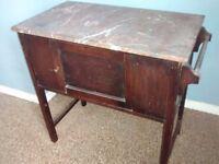 Wooden washstand