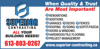 All your building need: Free Estimates & Fully Insured