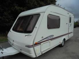 2006 Swift Accord 480 2 Berth Caravan For Sale.End Washroom.Motormover.