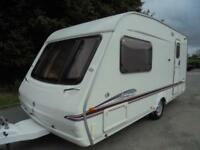 2006 Swift Accord 480 2 Berth Caravan For Sale.End Washroom.Motormover.