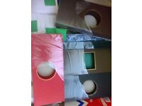 Large Box of Card Blanks, Envelopes and Clear packets