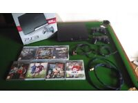 PS3 SLIM 320GB + POPULAR GAMES BUNDLE