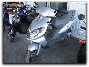 150cc boulavard scooter 2006